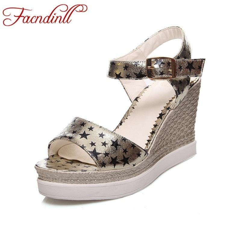 8eb4c90cb9f0 Woman Sandals Platfrom Sandals Women Wedges Gladiator Sandals Super High  Heels Ladies Print Back Strap Casual Simple Date Gladiator Sandals Wedding  Shoes ...