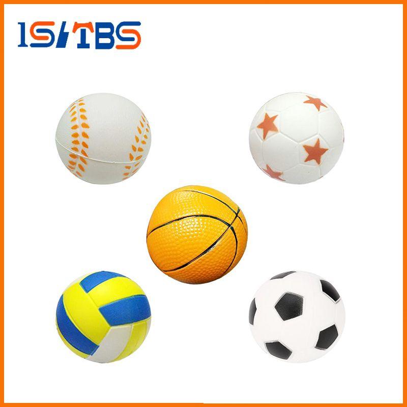 b7aca3b3ccb Squishy Toy Hand Football Basketball Baseball Exercise Soft Elastic Squuze  Anti-Stress Ball Kid Small Ball Toy Adult Massage Squishy Toy