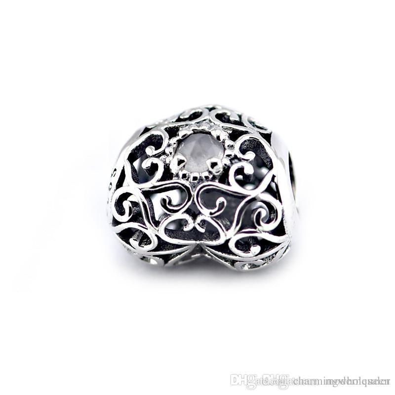 175f6f6314b 2019 April Birthstone Charms 925 Sterling Silver Fits Pandora Style  Bracelets 791784RC H9 From Charmingwholesaler, $37.83   DHgate.Com