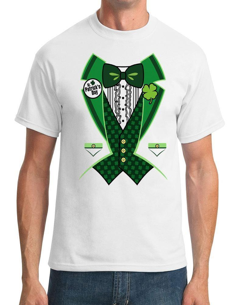 973ebdf93 St Patricks Day Green Tuxedo Mens T Shirt Urban T Shirts Irish T Shirts  From Crazytomorrow40, $11.58| DHgate.Com