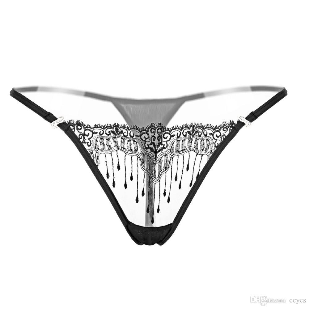 d8a64ff909 Acquista Lbellagiovanna Mutandine Donna Pizzo Bikini Biancheria Intima  Femminile Tanga Ricamo Slip Panty Ragazze Sexy Intimates Piccola Taglia  2153 A $2.15 ...