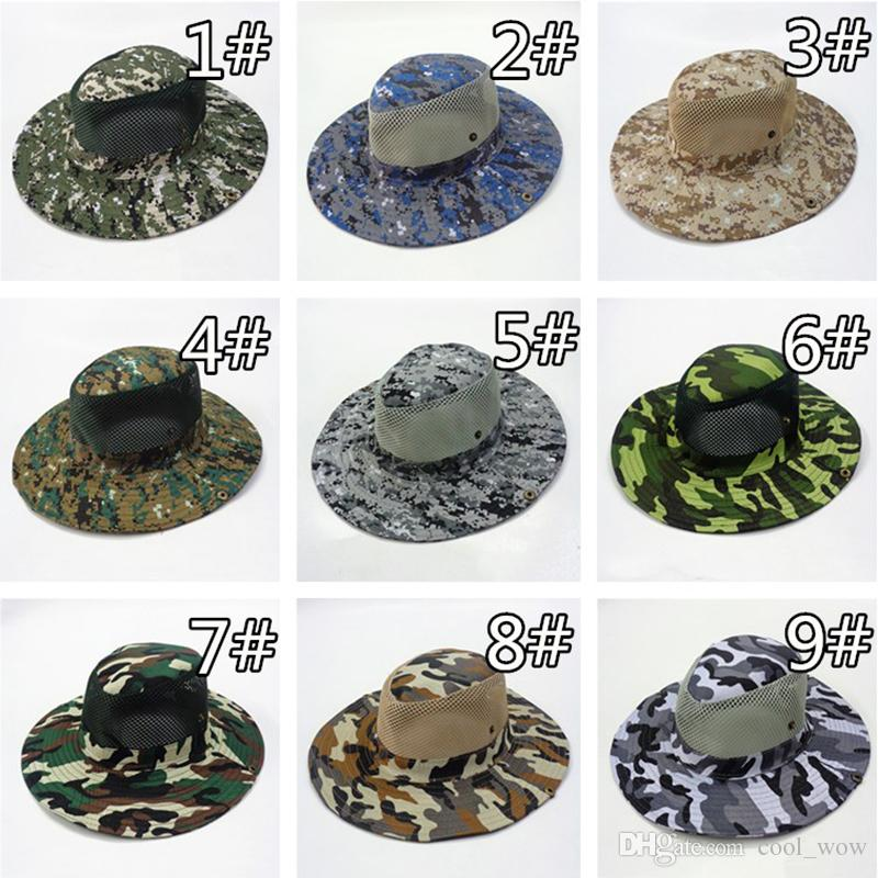 Tactical Bucket Beanie Hats Topee Airsoft Sniper Camouflage Nepalese Cap Military Army American Military Accessories Hiking Hats