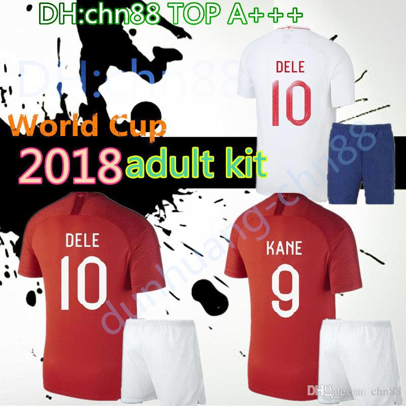 fcfca235baf 2018 2019 WORLD CUP Soccer JerseyS ROONEY STERLING VARDY KANE DELE ...