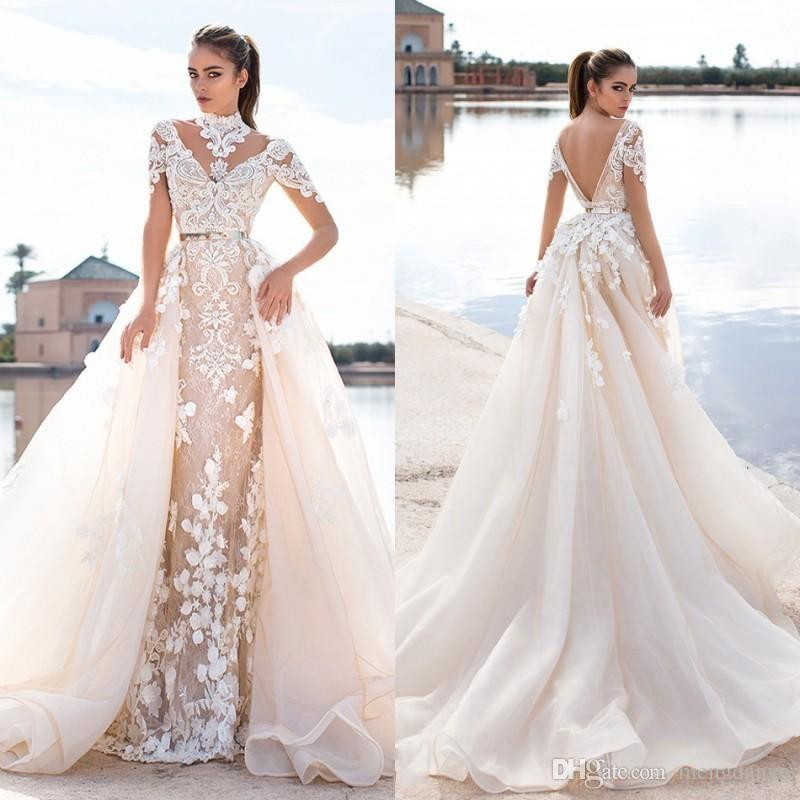 Vestiti Da Sposa Wish.2016 Llorenzorossib Ridal Abiti Da Sposa Wish Sash Sexy Backless Custom Made Abiti Da Sposa Applique Staccabile Abito Da Sposa Sirena