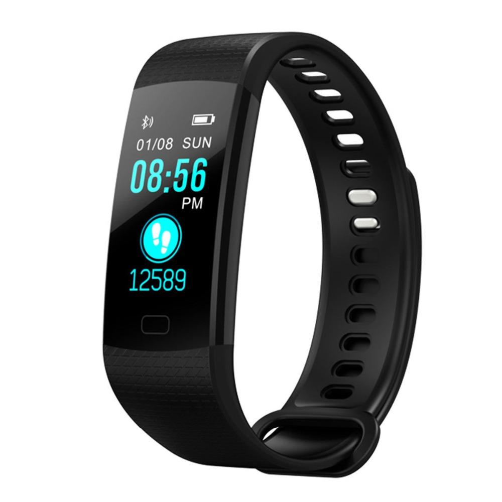 akaso fitness tracker  AKASO Y5 Smart Band Watch Color Screen Y5 Wristband Heart Rate ...