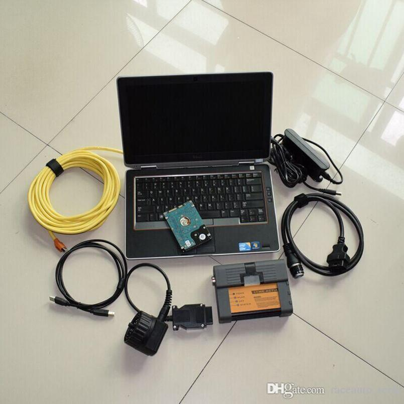 For bmw diagnostic system bmw icom a2 with computer e6320 i5 4g with expert  mode 500gb hard disk windows 7 laptop full