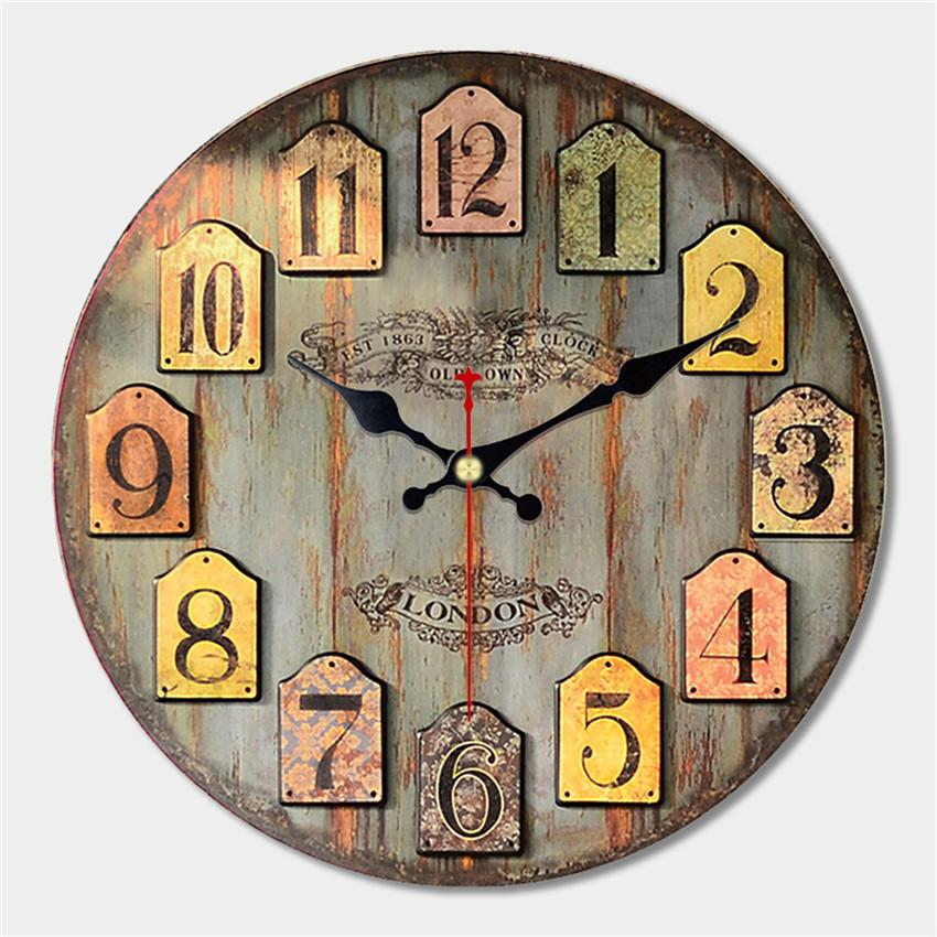 Decorative Large Wall Clock Modern Design Fashion Silent Meeting ...