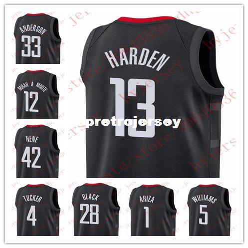 best authentic 2e04d 829e8 uk james harden black jersey e6f4c 04cd9