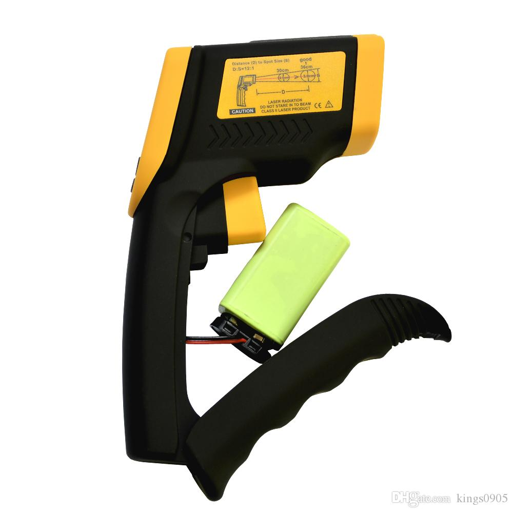 DT8380 Digital IR Non-Contact Infrared Thermometer With Laser Pointer Backlight Selection Function -50C~380C-58F~716F