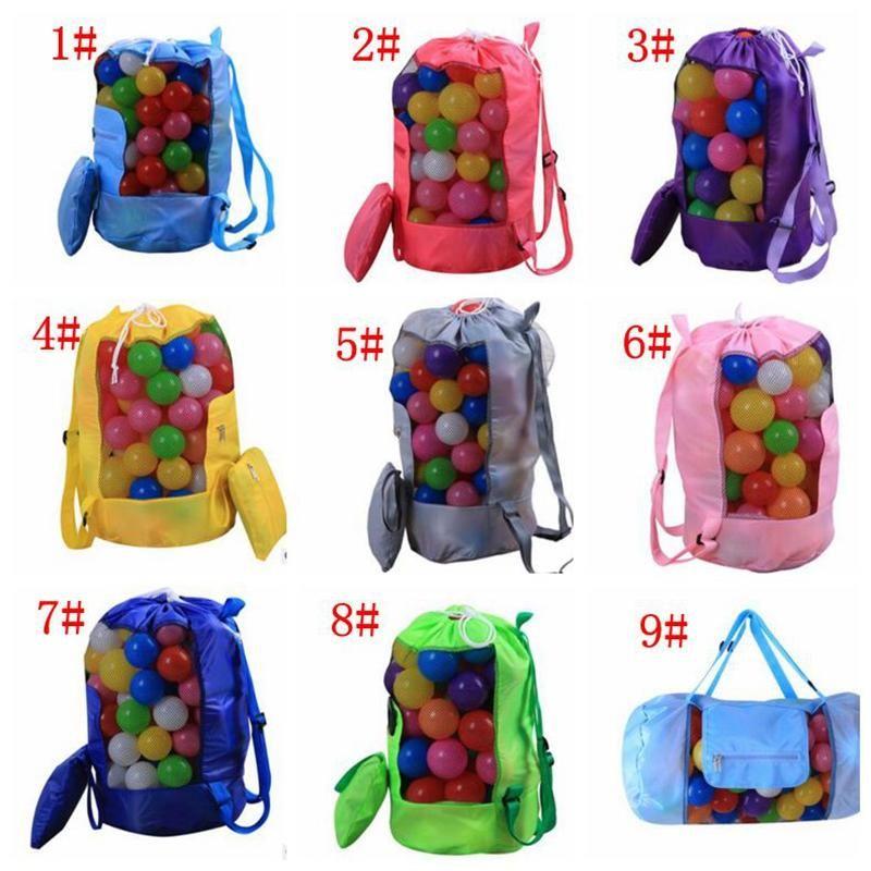 kids Sand Beach Treasures Toys Pouch Tote Mesh Childrens Storage Bag Beach Shells Pouch Tote Bag 30*58CM z173