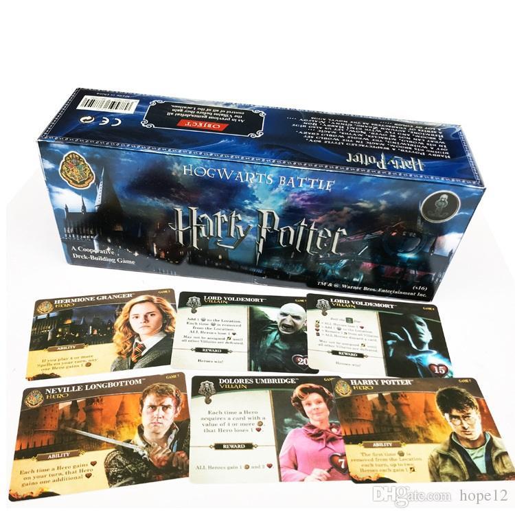 Compre 408 Unids Set Harry Potter Juego De Cartas En Ingles Juego