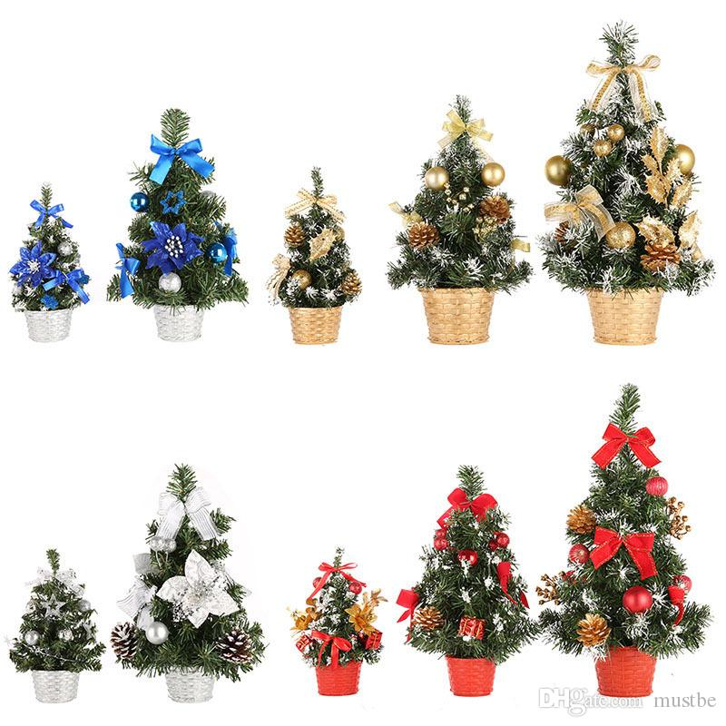 Mini Christmas Tree Table Decoration Small Pine Tree