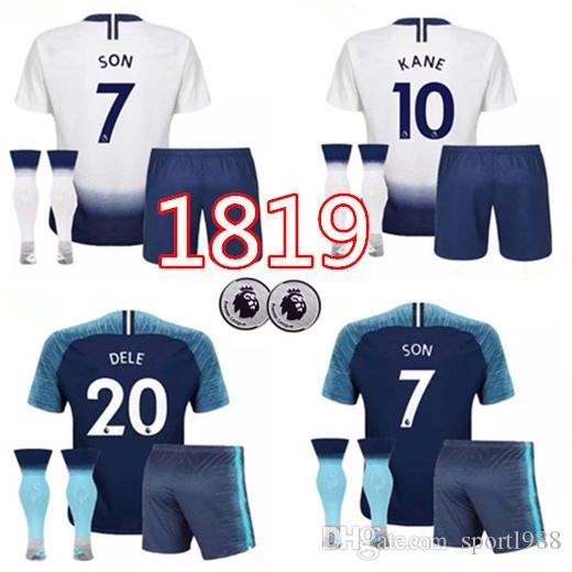 low priced 15205 3d949 hot tottenham hotspur 19 dembele white home soccer club ...