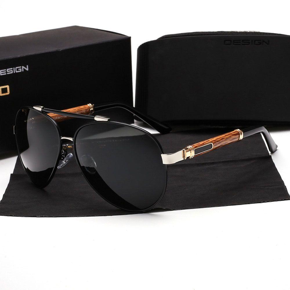 28641125ce Aluminum Magnesium Brand Designer Polarized Sunglasses Men Women Sports  Driving Sun Glasses Male Fishing Female Eyewear With Cases And Box Cool  Sunglasses ...
