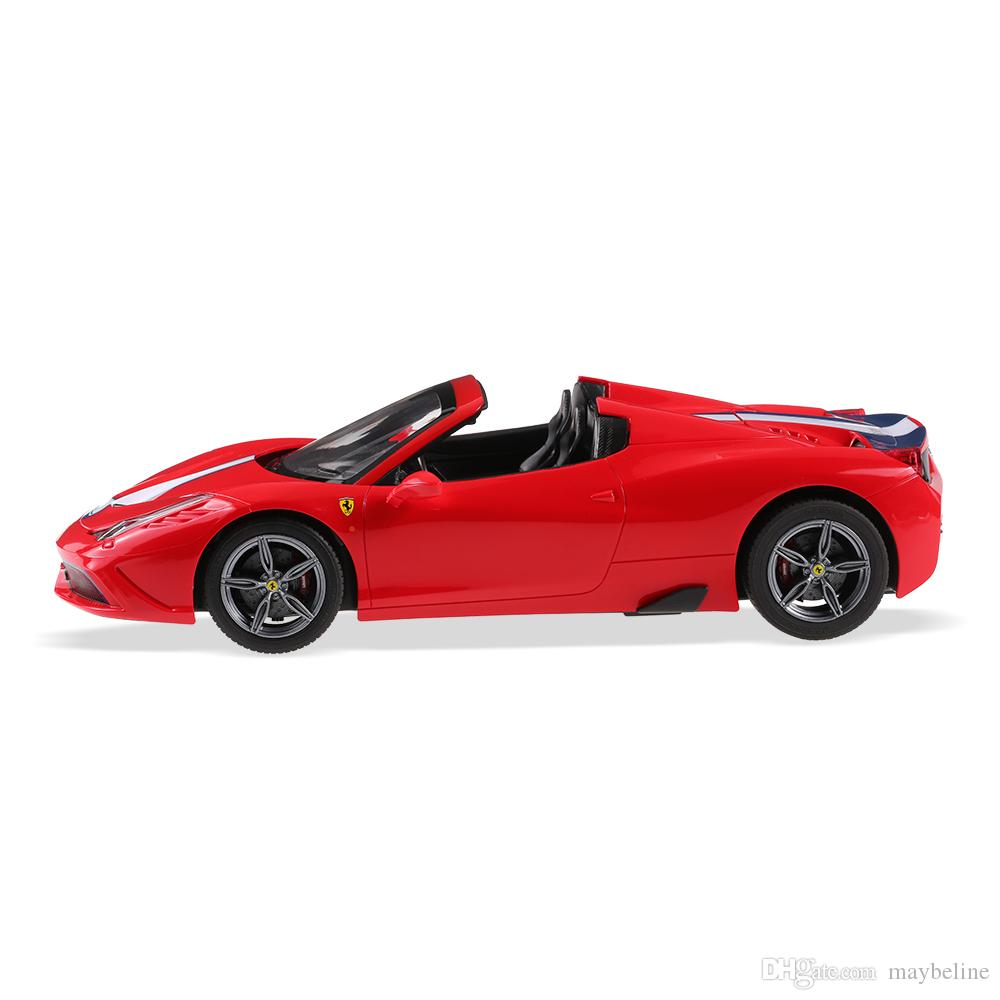 Ferrari 458 Speciale A Convertible 114 Rechargeable Usb Rc Sports Car Toy Child Remote Control Drift Toys Radio Parts Fast Electric Cars