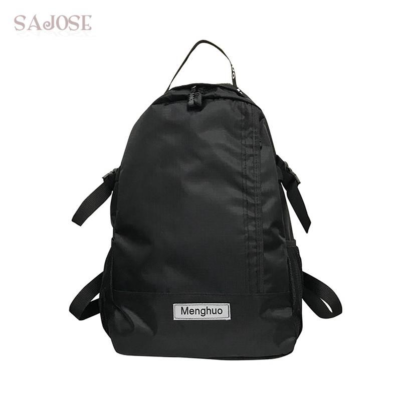 Women Oxford Simple Personality Backpack Teenage Girls Leisure Backpack Bag Female School Bag Unisex Bookbag Ladies Knapsack