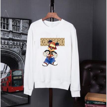 Compre 2019 Hombres Y Mujeres De Impresión Gucci Suéter De Manga Larga Moda  De Lujo Para Hombres Cuello Redondo Suéter Suéter Camisa Impresa De Los  Hombres ... 64fe5a294c0f