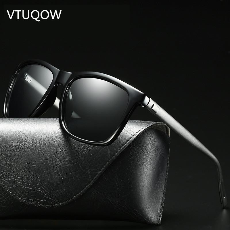 58df9d9f87 2019 New Arrival Fashion Square Sunglasses Men Brand Designer Retro  Polarized Driving Sun Glasses For Men Male Oculos 2018 UV400 Polarised  Sunglasses Baby ...