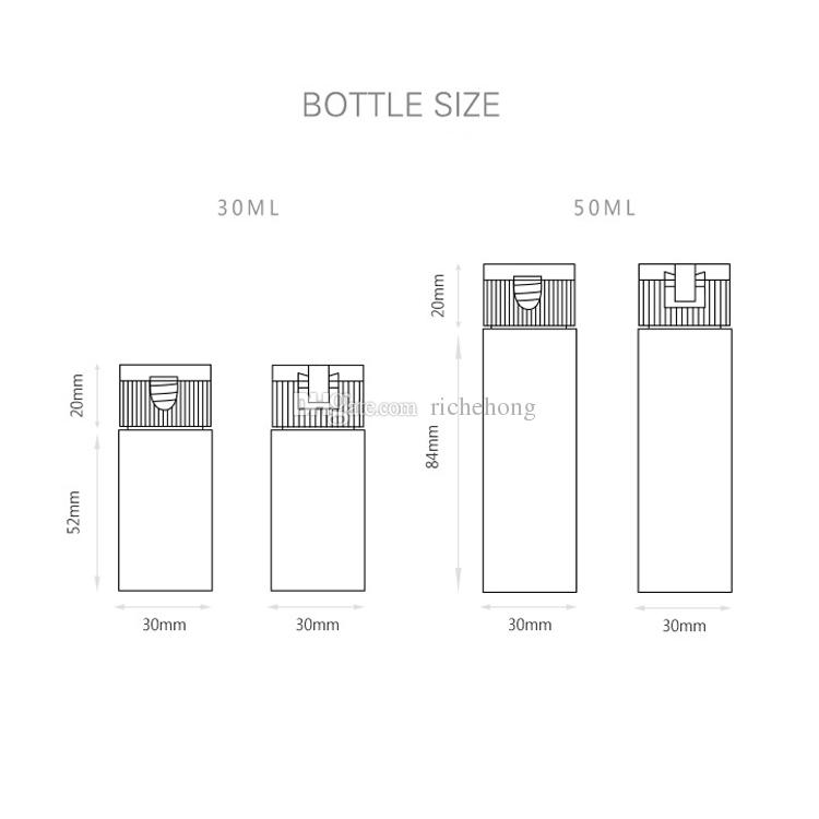 30ml / 50ml Tube Cosmetic Cream Lotion Containers Cuidado personal Emulsion Cream Packaging Envase Shampoo Tube Packaging