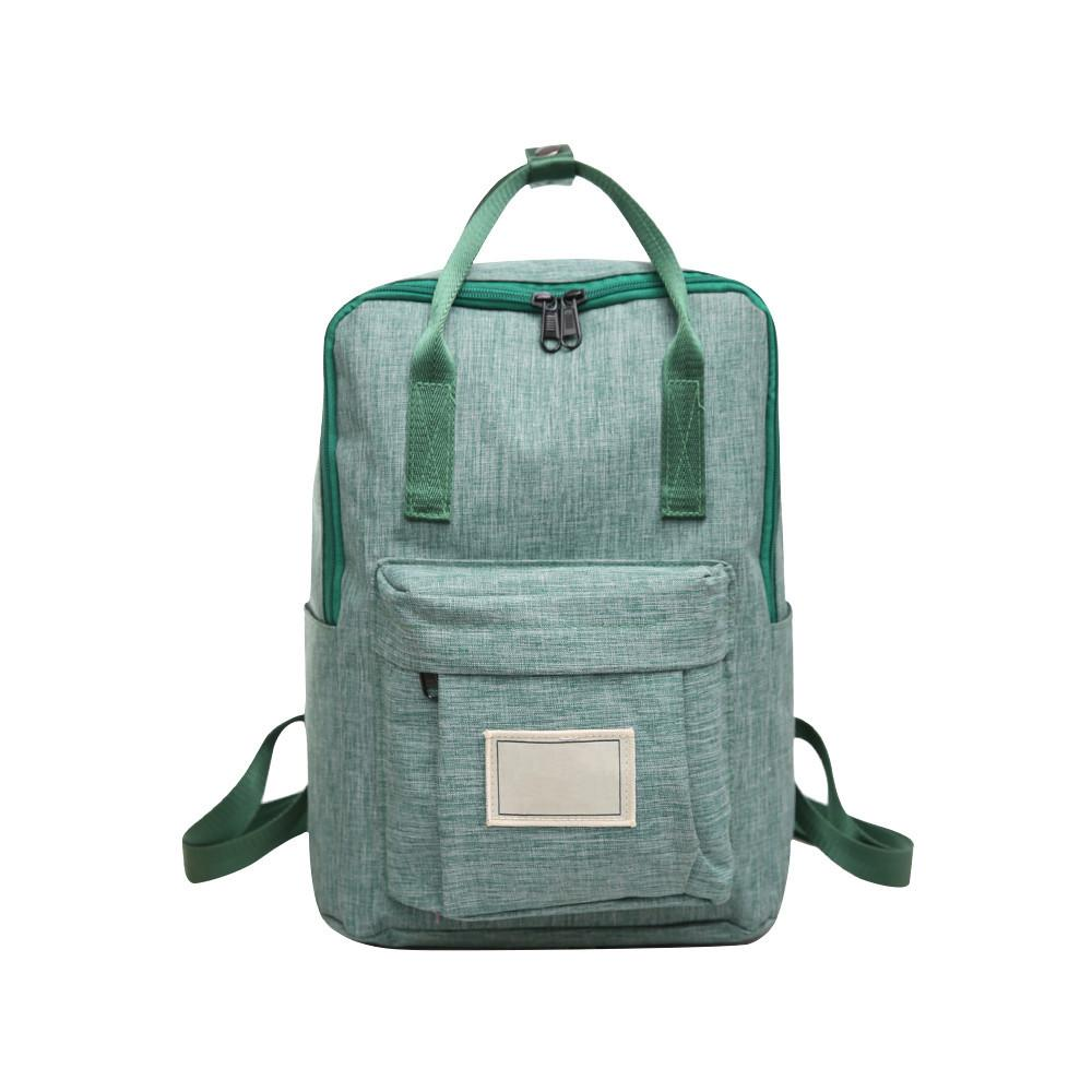 2018 Canvas Plain Style Minimalism Best Backpack For Adolescent New Travel  Leisure Men Backpack Shoulder Bag Hombre Messenger Bags Leather Backpack  From ... 461a67ca550c0