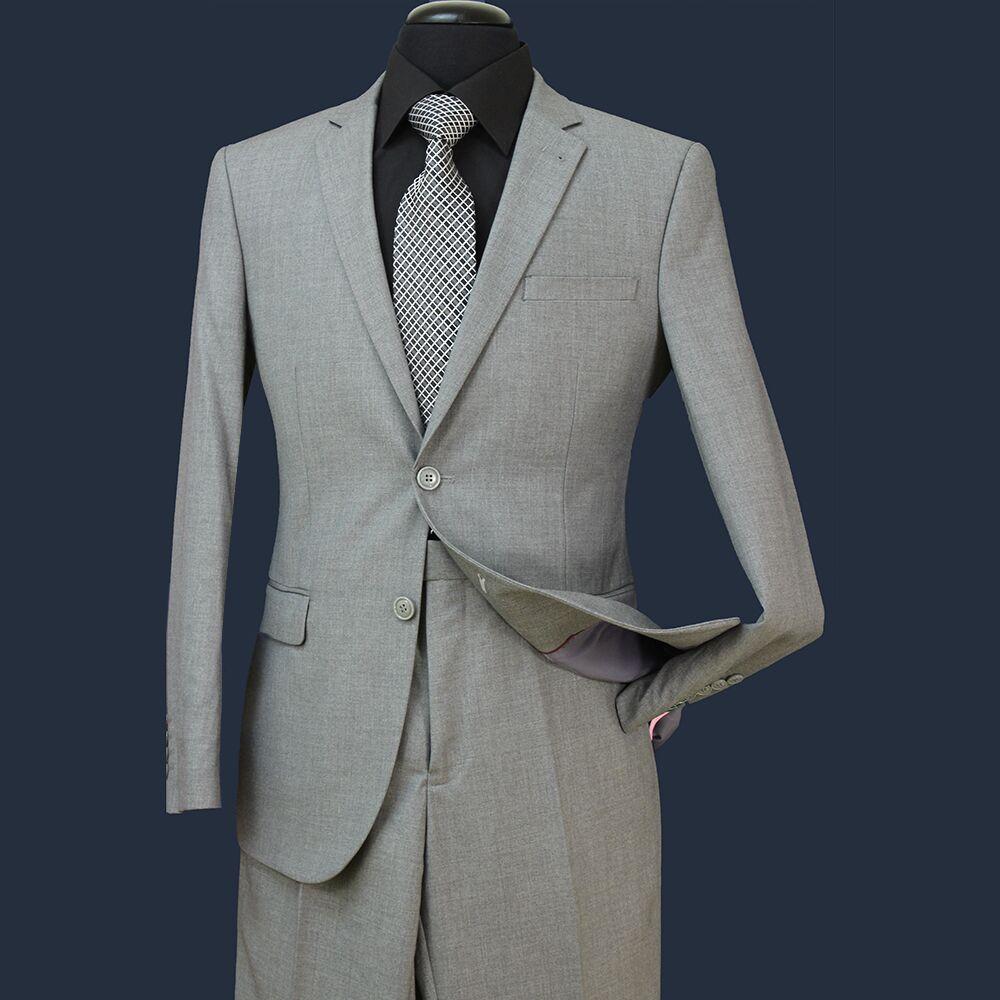 Düğünler Erkekler Biçimsel Suits için STOK Damat smokin Groomsmen Yan Vent Best Man Suit Damat Damat Giyim Ceket + Pantolon ST004