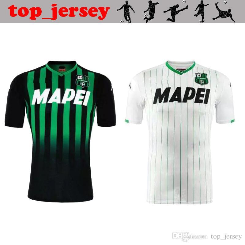 Nuevo ITALIA Unione Sportiva Sassuolo Calcio SRL Camiseta De Fútbol 18 19  Casa Verde Lejos Blanco Príncipe Sassuolo Hombres Camisetas De Fútbol De  Calidad ... 0ed2b143d7429