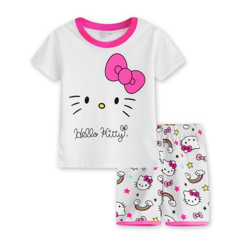 7b23afeaf5e7 2018 New Fashion Children S Clothing Cotton Girl Short Sleeved White ...