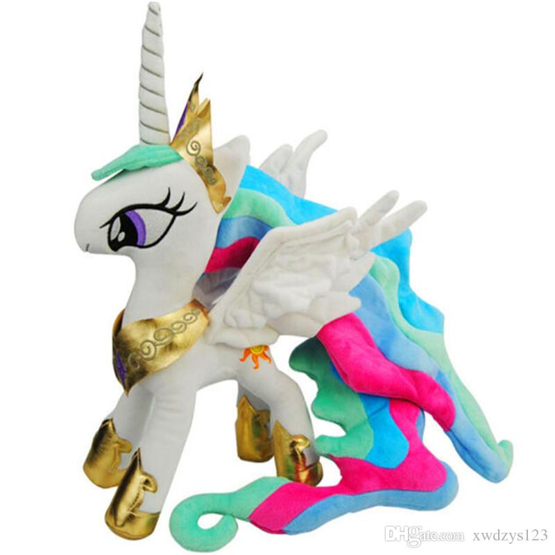 My Pet Little Doll New Cotton Plush Toy Action Figures Friendship Is Magic Princess Celestia