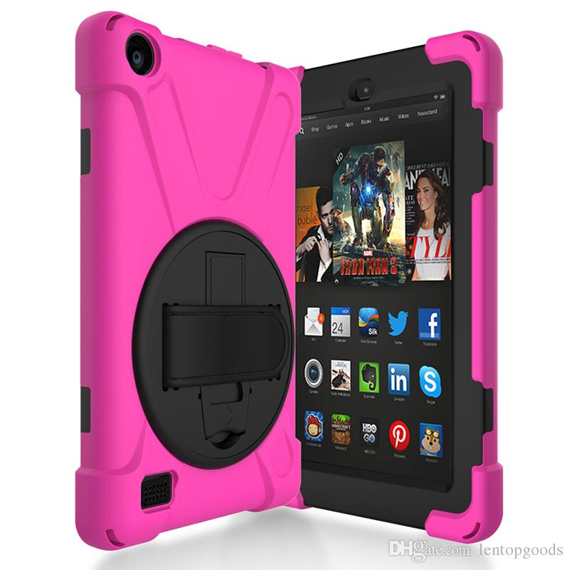 Soft Hand Strap and Holder Cover for Kindle Fire HD 7 2017 Kindle Fire HD 8 2017 2018 E-reader