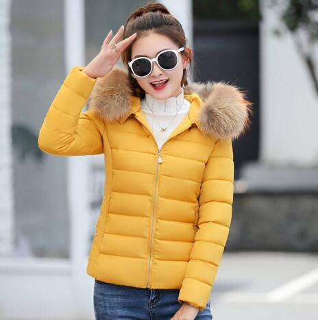 0381641f6c5a9 Winter Jacket Children Parka New 2018 Fashion Warm Cotton Padded Coat  Teenage Girls Faux Fur Collar Kids Clothes Outwear Coat Kids Girls Navy Coat  From ...