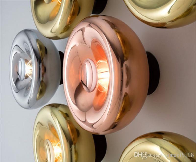 Acquista lampada da parete a led moderna in vetro applique da