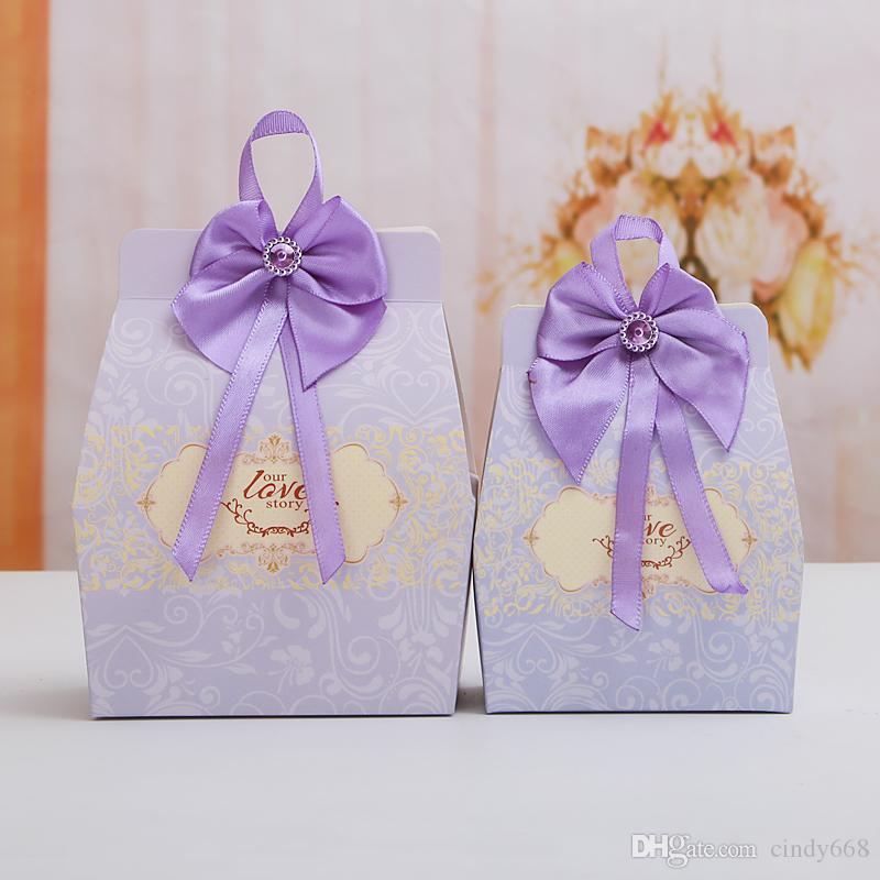 2019 Wedding Party Favor With Tassels Candy Box Birthday Gift Bags Creative Container Chocolate Storage Case Tin From Cindy668