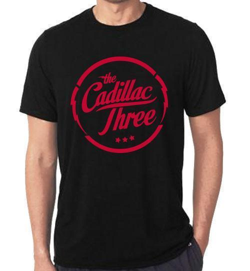 NOVITÀ The Cadillac Three band logo Black Design UOMO T-SHIRT DONNA S-5XL