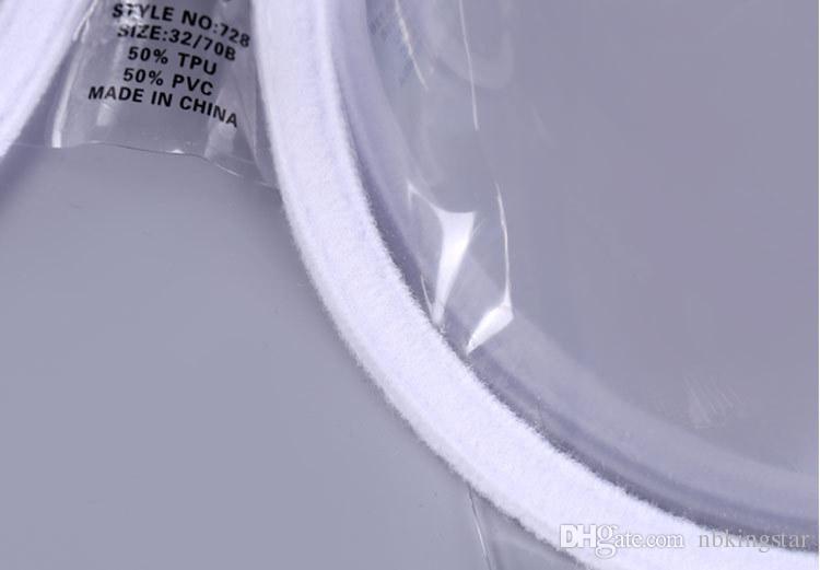 المرأة مثير رفع الملابس الداخلية حمالات الصدر الملابس الداخلية TPU PVC شفاف واضح البرازيلي الأشرطة رقيقة جدا حمالات غير مرئية