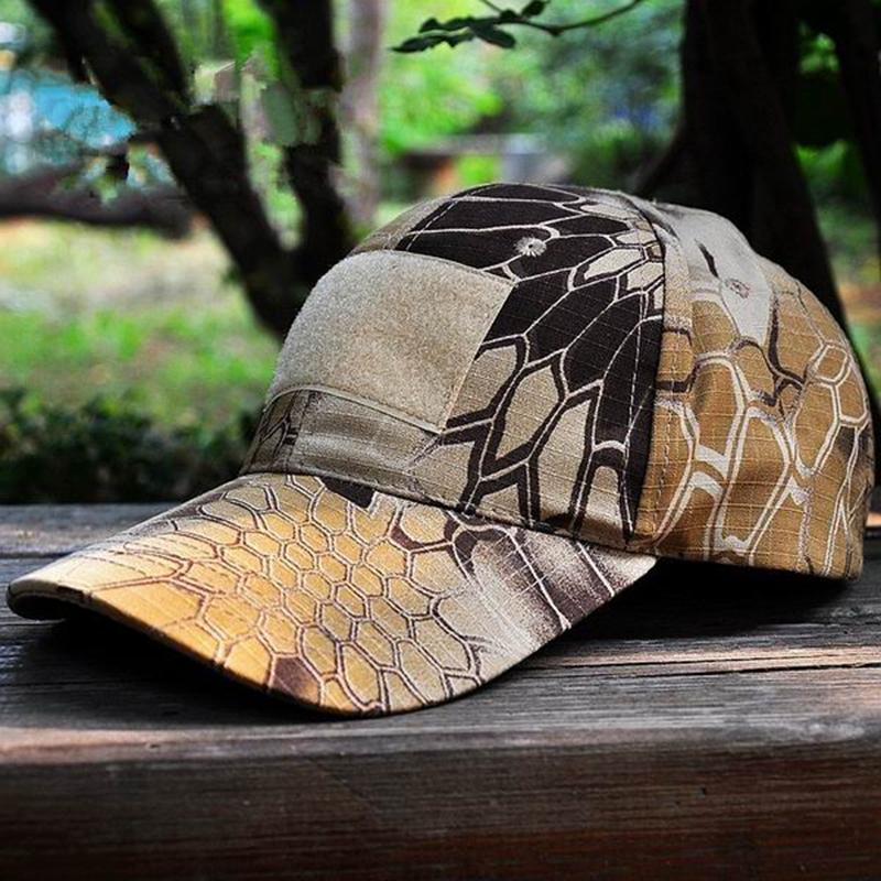 ccf850df Men's Snapback Camouflage Tactical Hat Army Tactical Hiking Cap Head  Camouflage Caps Sun Hat for Men and Women