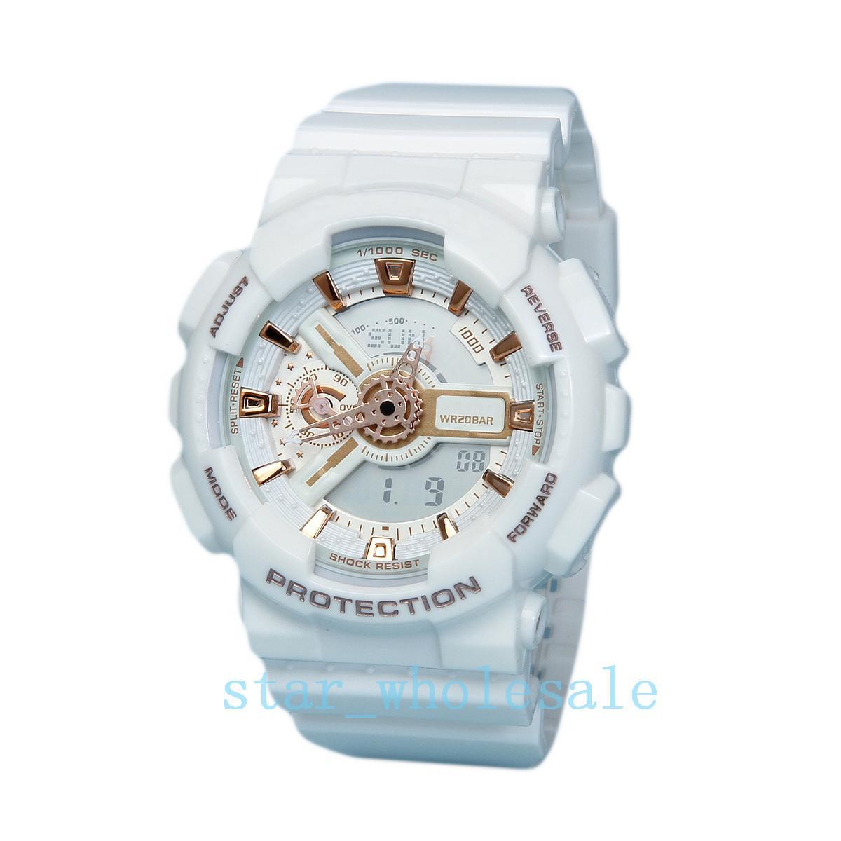Top relogio G110 Herren-Sportuhren, LED-Chronograph-Armbanduhr, Militäruhr, Digitaluhr, gutes Geschenk für Männer Junge, Dropshipping