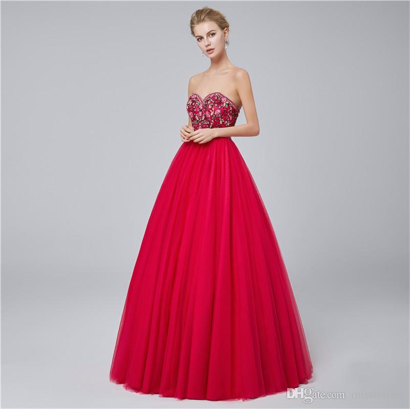 2018 vestido de fiesta fucsia amor apliques abalorios fiesta de las muchachas vestidos de gala vestido de fiesta vestidos de fiesta de cóctel