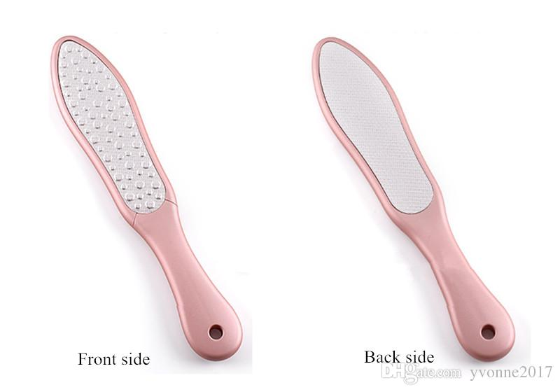 stainless steel multifunctional double side foot grinding plate feet rasps remove dead skin foot rub