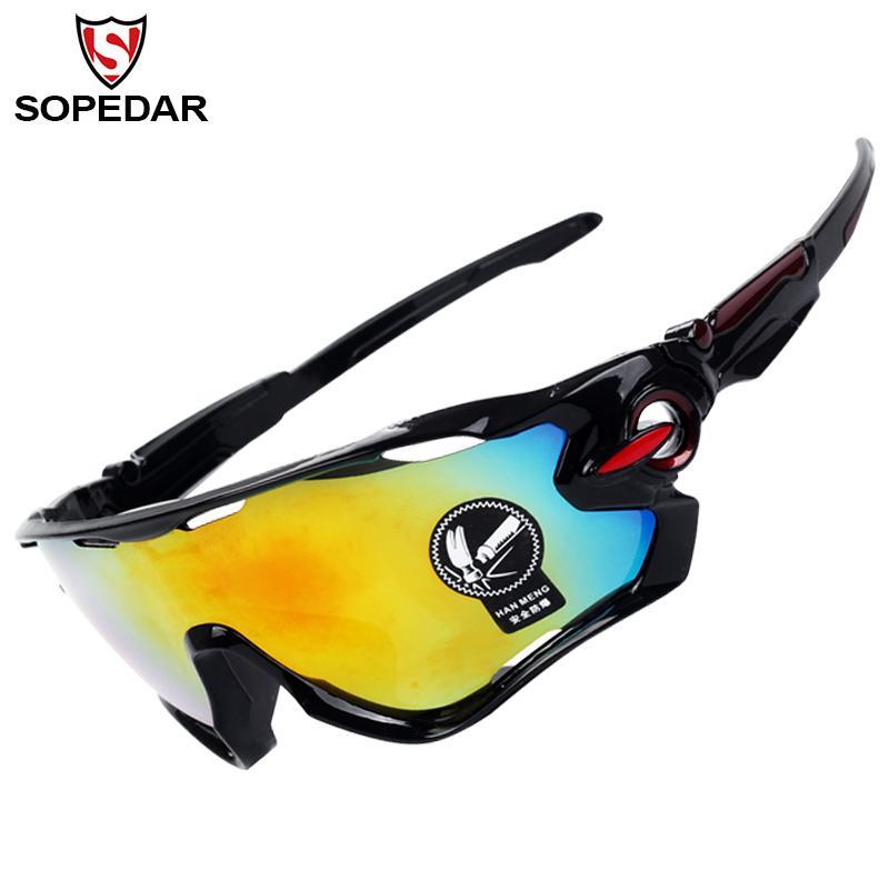 0413e372c8 2019 SOPEDAR Cycling Road Bicycle UV 400 Goggles Windproof Mountain Bike  Sunglasses Riding MTB Eyewear Bike Accessories 32g From Qingbale