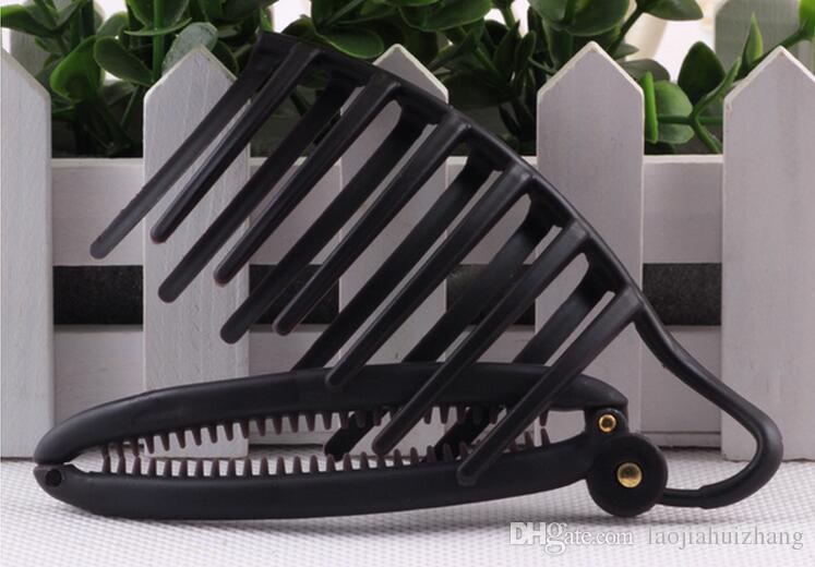 120 шт. / Лот Уникальный Night Party Волос Устройство Черный / Коричневый Парикмахерские Инструменты Rapid Bud Maker Hair Braiders