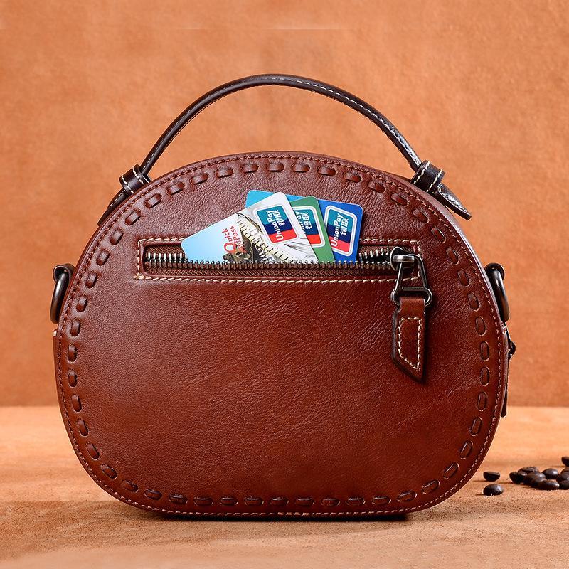 a8d895afe44 2018 new leather handbag retro handmade lady shoulder fashion luxury bag,  designer bag, official production,Designer Bag, Leather good