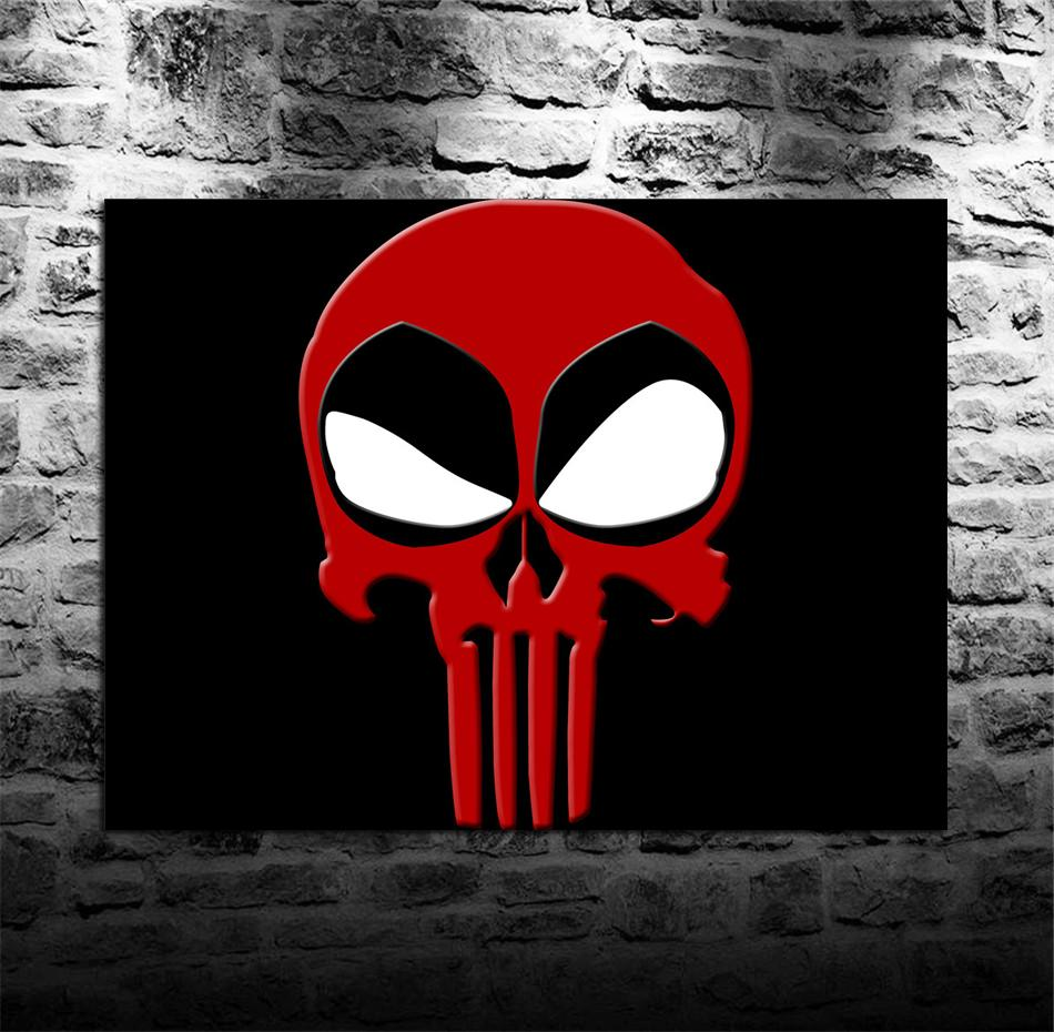2018 Deadpool Logo Free Download HD WallpapersHome Decor Printed Modern Art Painting On Canvas Unframed Framed From Qq53561562 684