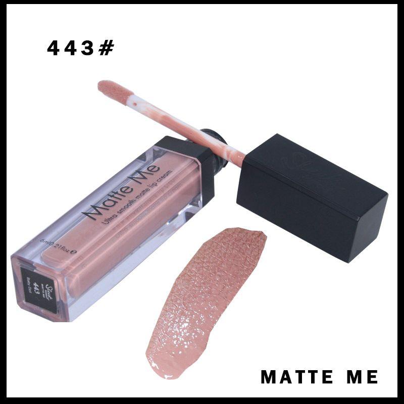 Schlankes Make-up - Ultra Smooth Matte Me Lipstick Lipgloss Creme Langlebig 12 Farben