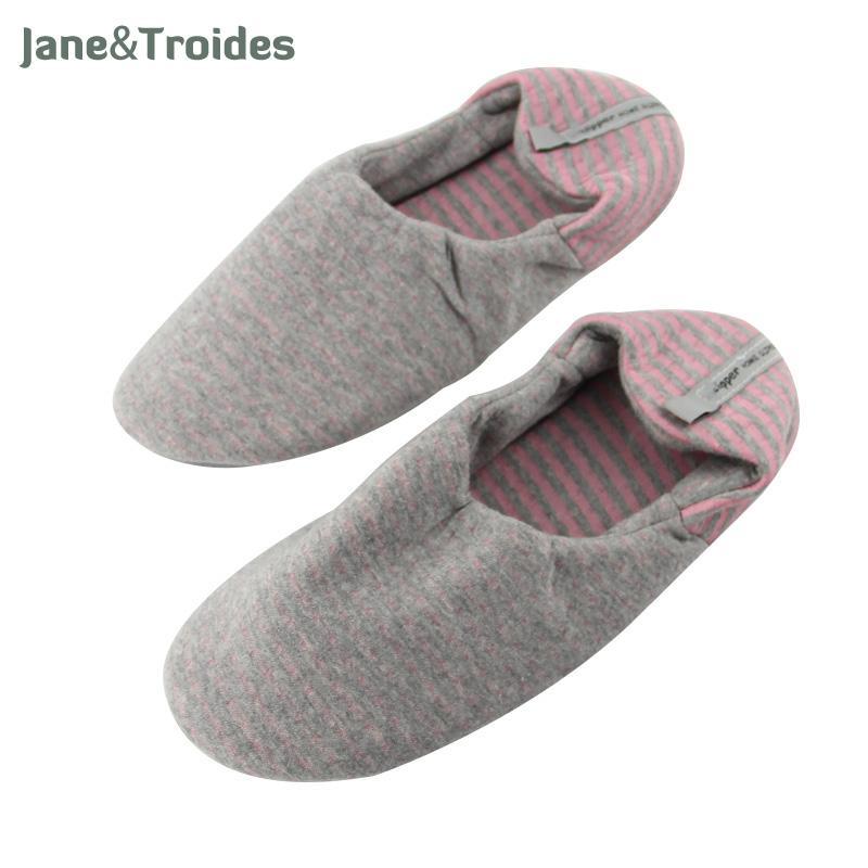 Compre Zapatillas De Yoga Para Mujer Transpirable Elástico Interior Suave  Zapatillas De Punto De Algodón De Rayas Zapatos De Alta Calidad Ocasionales  ... 4eadb7d3009c