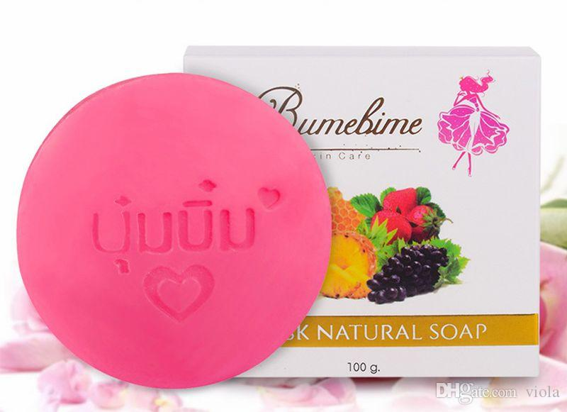 2018 Bumebime mask natual Handmade Soap with Fruit Essential Natural Mask DHL