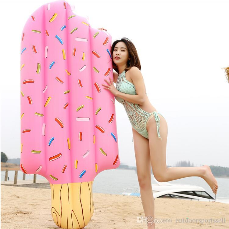 New ice cream float PVC water inflatable float Best partner at a beach pool.