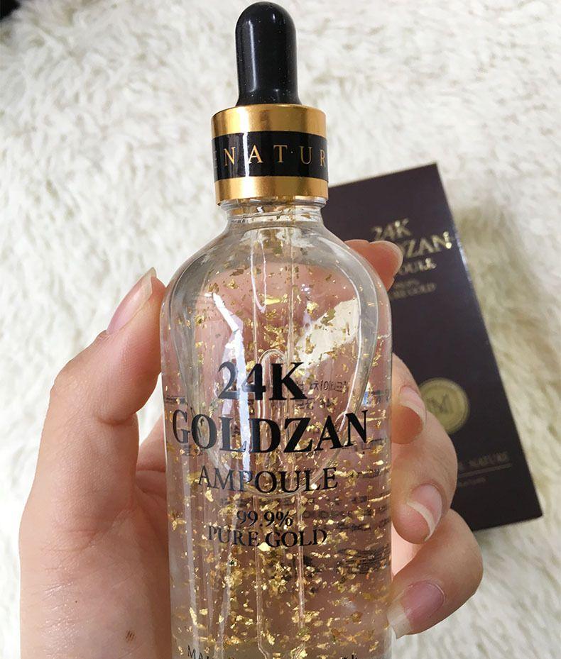 Skinature 24k Goldzan ampolla crema il viso idratante 24 K oro creme idratanti 24K oro essenza siero nuovo viso cura della pelle