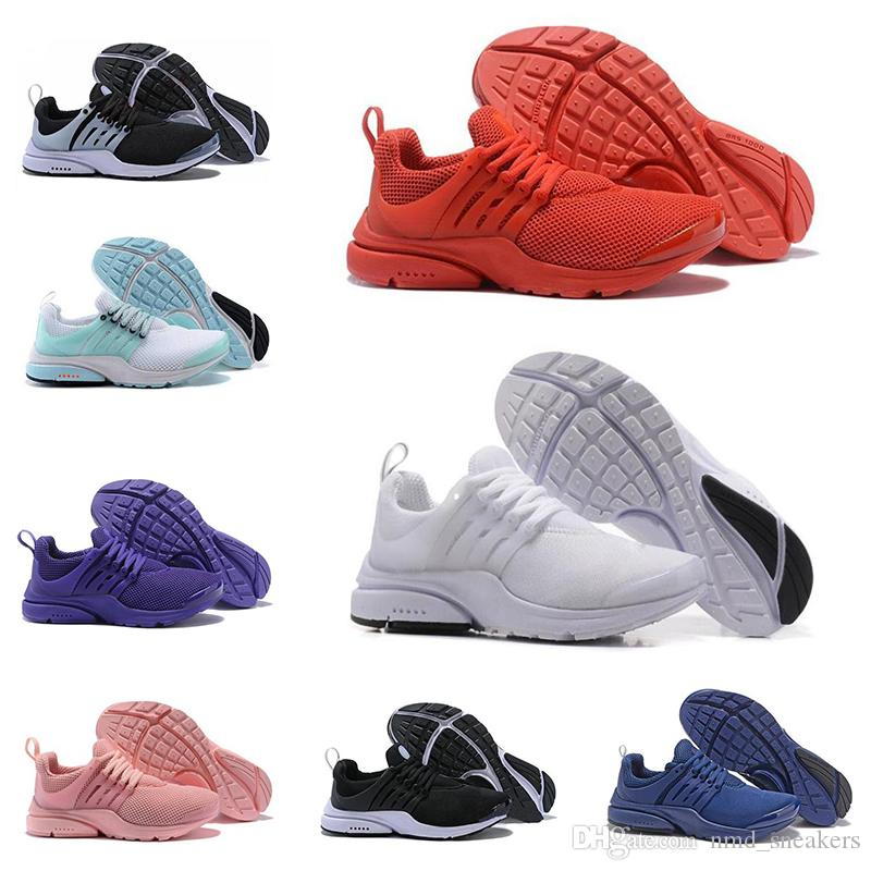 Special offer Presto Ultra Olympic BR QS Mens Running Shoes Tripel Black white Pink yellow Red Fashion Casual trainer Sports shoes Sneaker