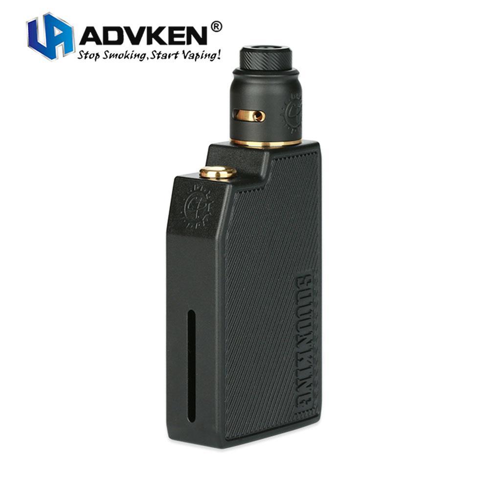 Original Advken CP Squonking Kit w/ CP Squonk MOD & 2ml RDA Tank No Battery  Box Mod Easy Press Filling Vape Kit Vs CAPO SRDA