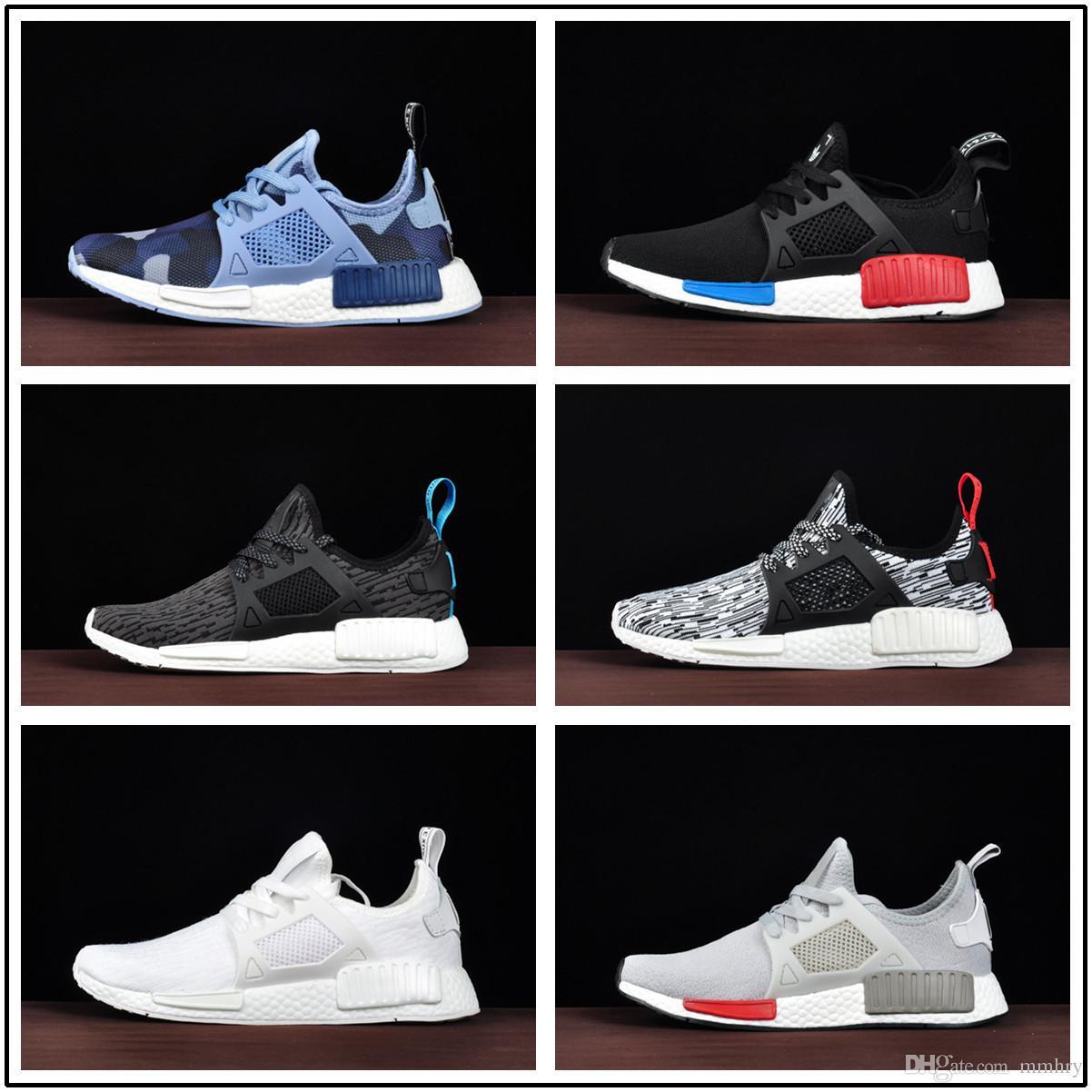 buy online 4ff85 b4102 Compre Venta Caliente 2018 Adidas Nuevos Originales Nmd R1 Runner Primeknit  Pk Boost Tri Color Spiderman Mujeres Hombres Zapatillas De Deporte De  Diseño ...